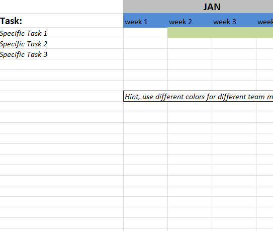 Action Register Template Excel